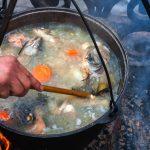 Уха,суп из своего улова