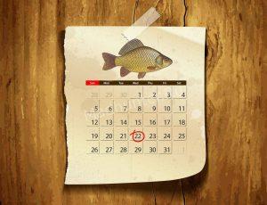 Календарь клёва Карася