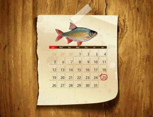 Календарь клёва Красноперки