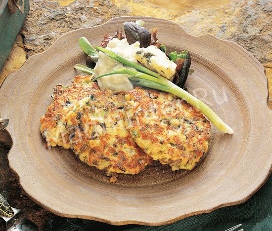 Рецепт рыбных оладий