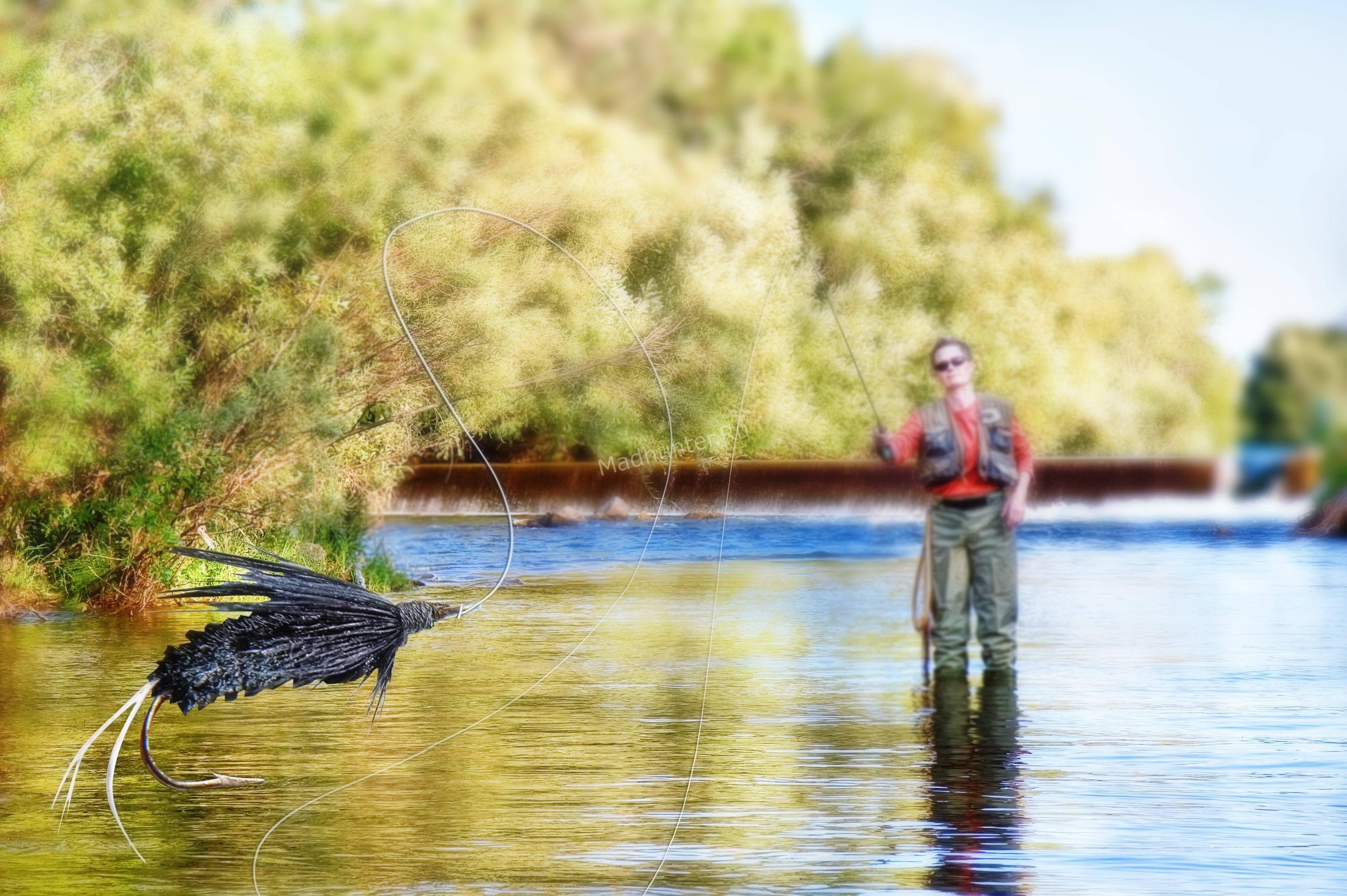 нахлыст рыбалка на хариуса