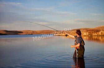 Рыбалка на водохранилище в нахлыст