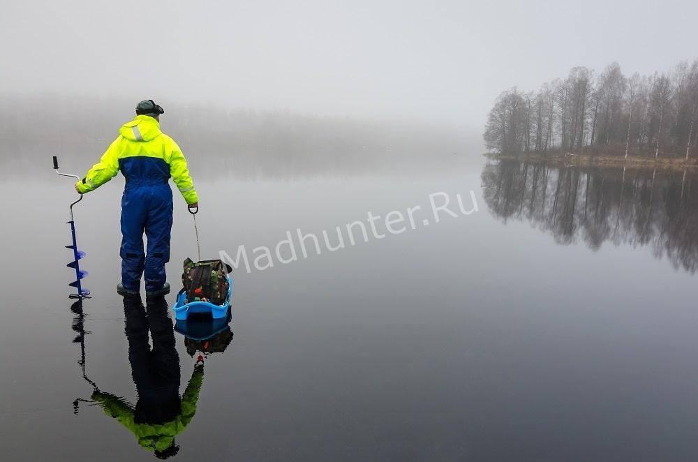 Рыбалка зимой- поиск рыбы