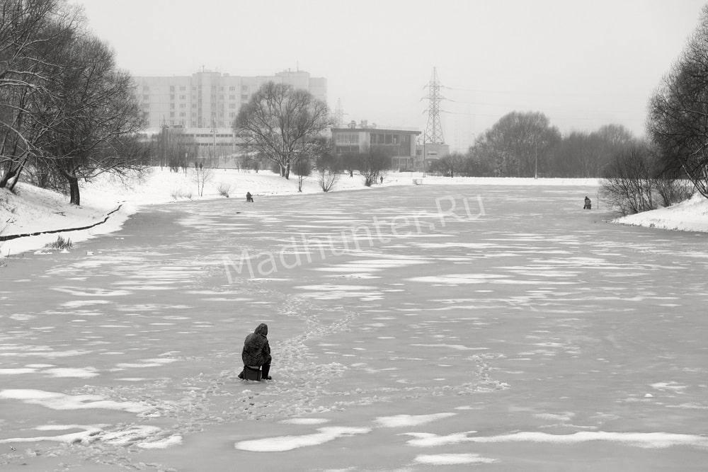 Рыбалка зимой в декабре