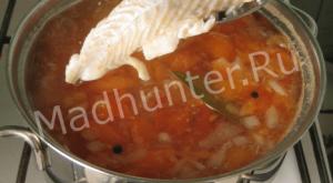 добавляем рыбу