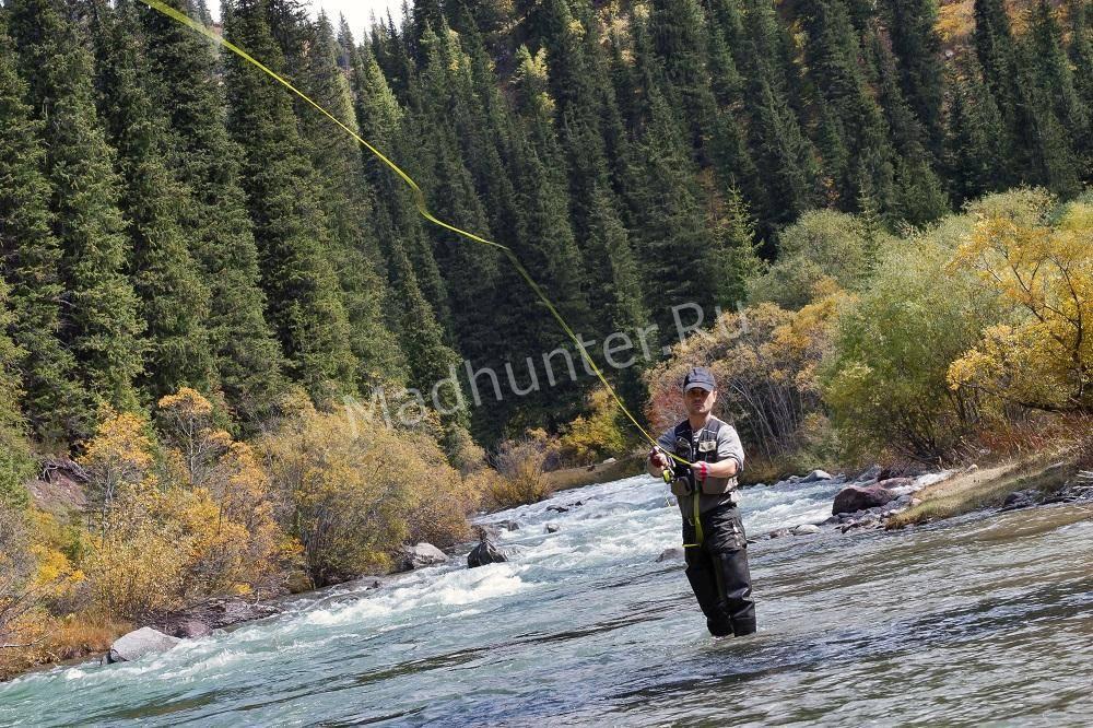 Рыбалка нахлыстом вертикальный способ