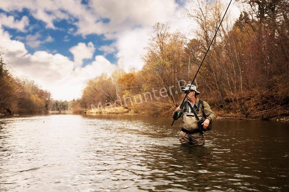 Рыбалка в Нахлыст осенью