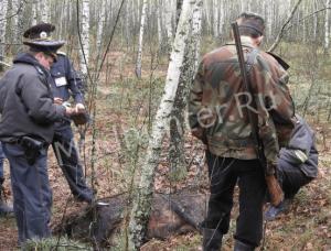 В Удмуртии правоохранителям удалось задержать браконьера