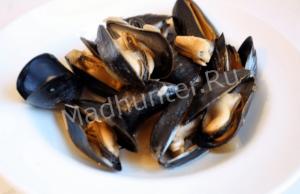 моллюски и мидии-min