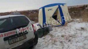 Два Казахстанских рыбака угорели в собственной палатке