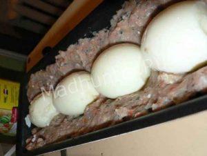 раскладываем яйца