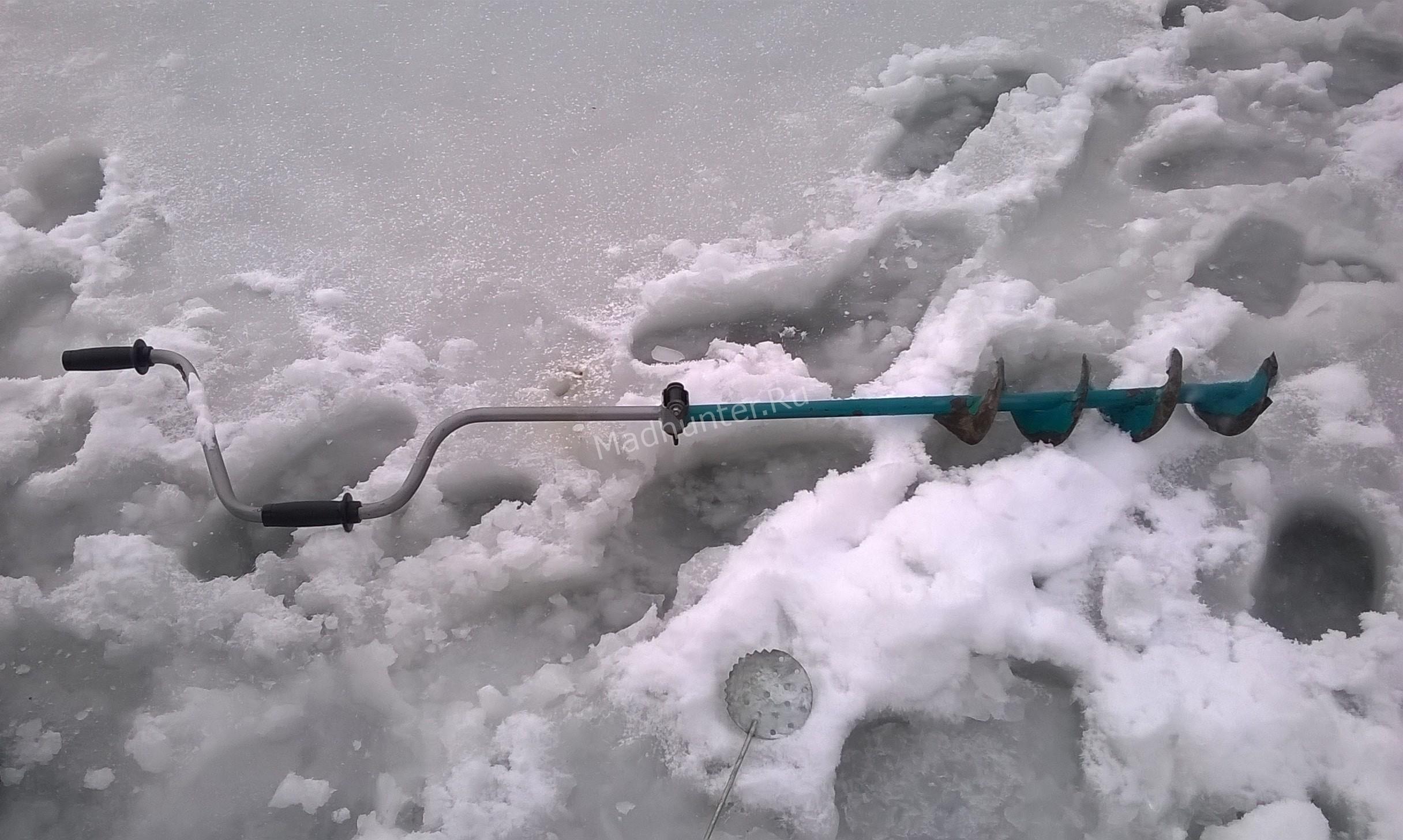 Ловля карася со льда