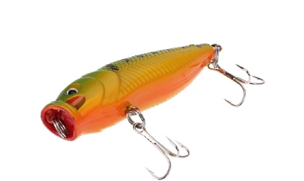 Ловля рыбы поппером - основы рыбалки поппером