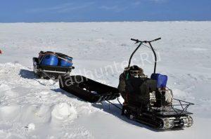 Рыбаки из Тольятти чуть не замерзли на середине реки Волга