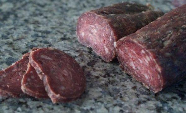 Колбаса домашняя из оленины