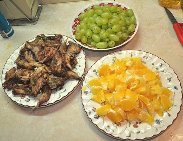 Куропатка, приготовленная по испанскому рецепту