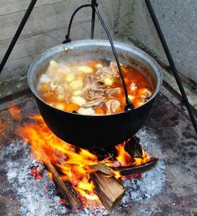 Охотничий супчик из мяса бекаса и дупеля с картофелем