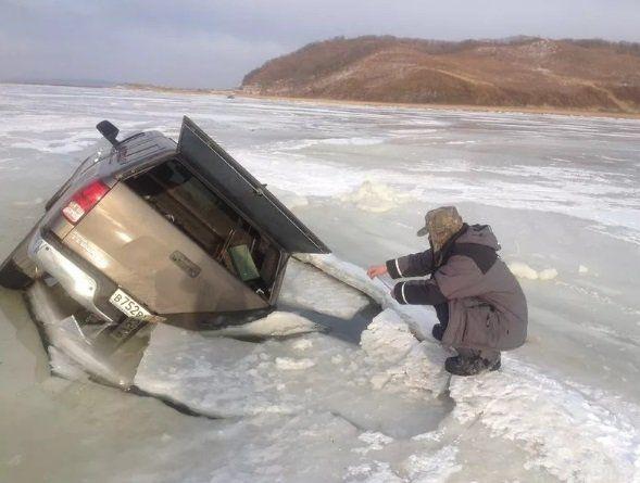 Рыбак, помни, выезд на лед чрезвычайно опасен
