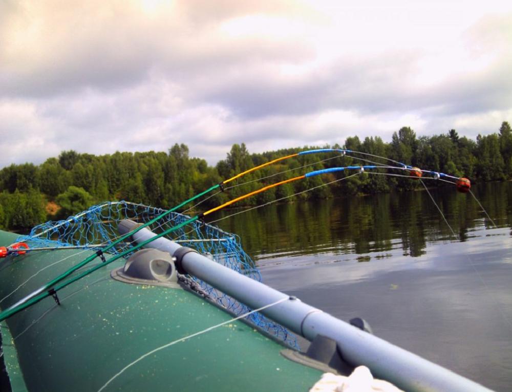 Секреты уловистости леща на кольцо с лодки