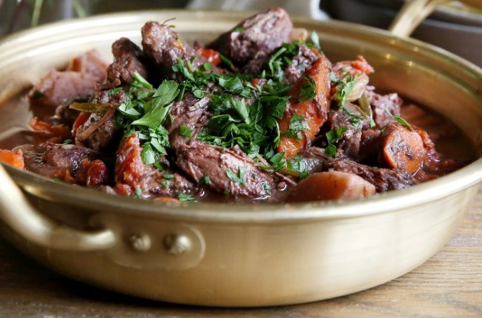 Тушеное мясо баклана