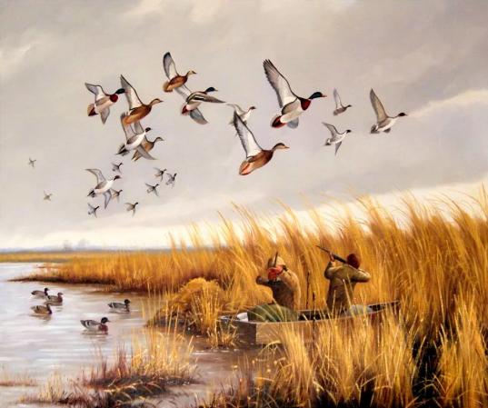 Охота на уток в полете привела к ужасной трагедии