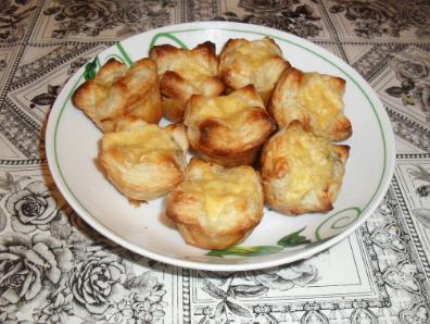 закуска в виде короны