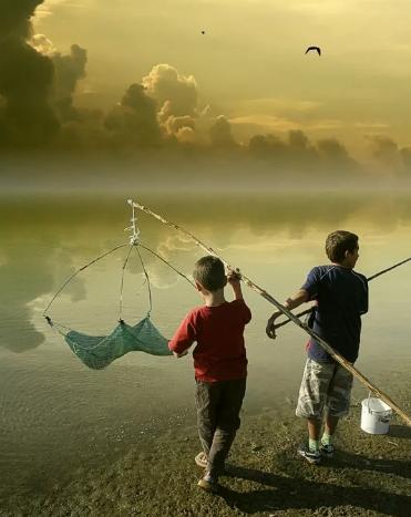«В гостях у карпа» или рыбалка для юных рыбаков