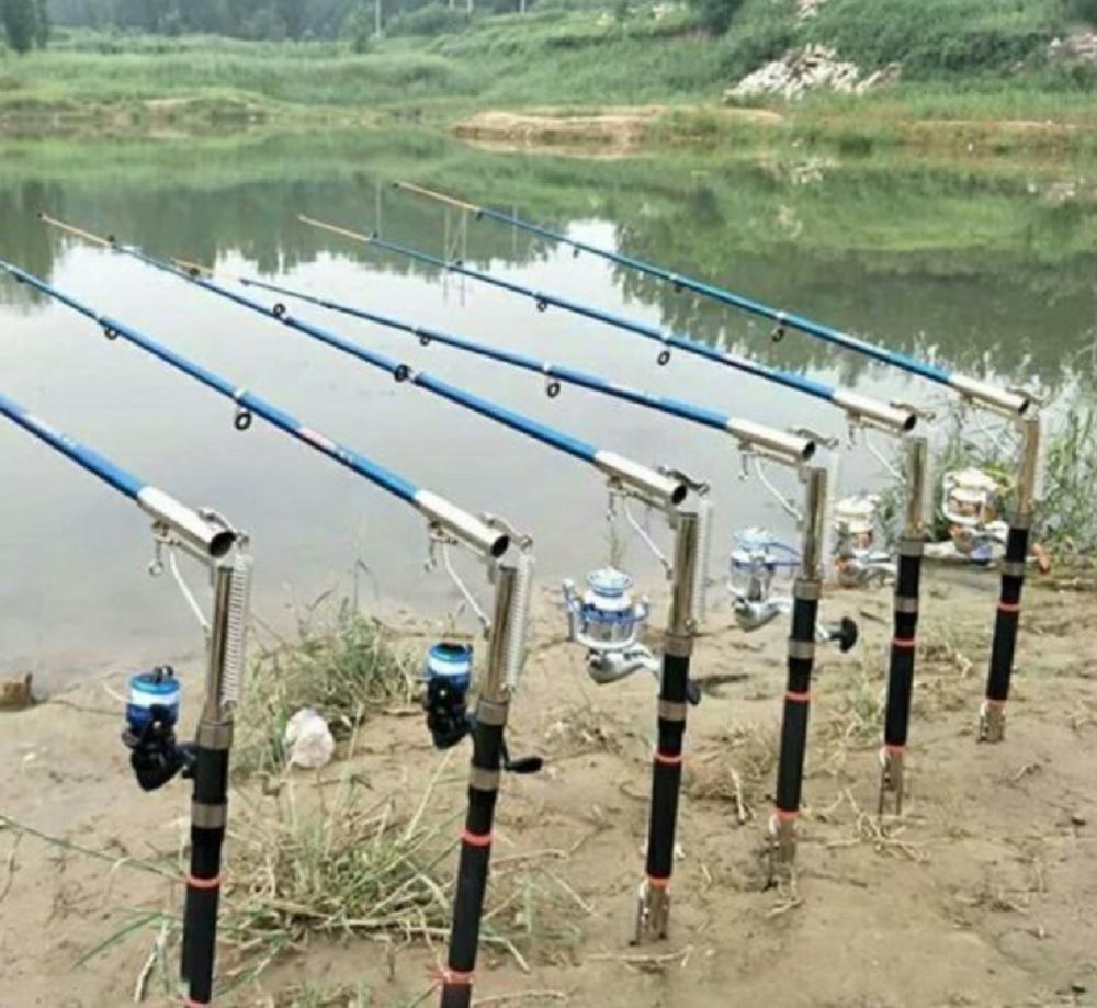 Ловля рыбы на озере и снасти