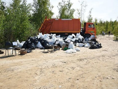Берега рек в Тульской области прошли успешную очистку