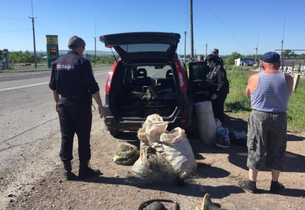 Браконьеры пытались увезти домой 6 мешков рыбы