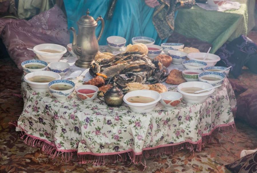 «Уха-Царица» продет в Тобольске для рыбаков