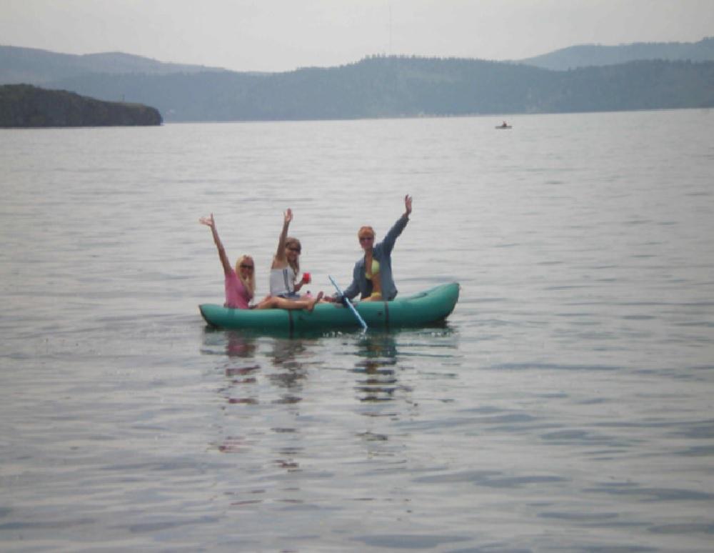 Летняя рыбалка на озере Байкал