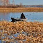 Рыбак из Самары вместо рыбы изловил снаряд