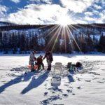 Как погода влияет на зимнюю рыбалку