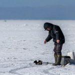 Льдина в Марий Эл носит на себе рыбаков по Волге