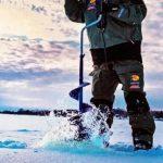 Ледобур для зимней рыбалки прихоть или необходимость