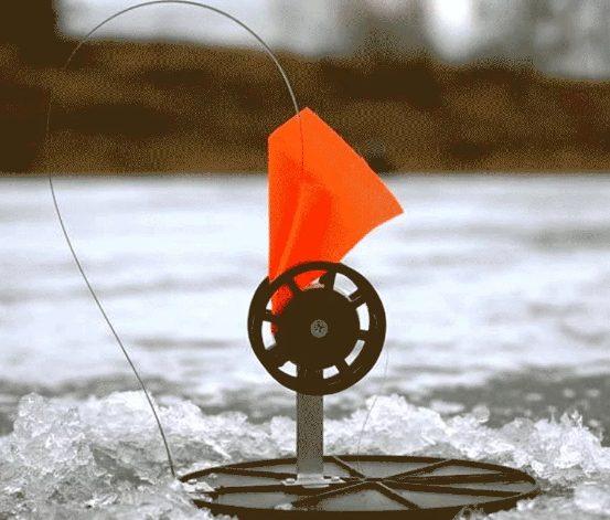 Способ, чтобы жерлицы не замерзали ночью на рыбалке