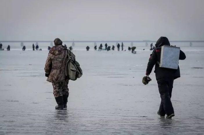 За эту зиму уже 10 рыбаков погибли в Волгограде