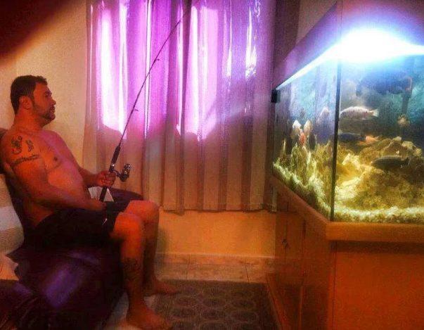 Рыбак на диване или особые диванные рыбацкие войска