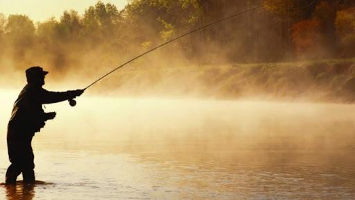 62% процента россиян увлекаются рыбалкой