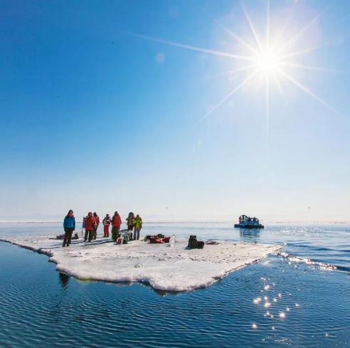 Рыбалки в этот раз на Ладоге не предвидится – лед мгновенно разломался