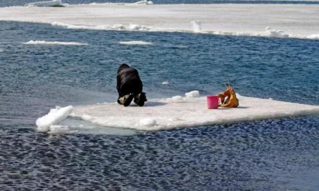 Рыбаков под Калининградом унесло в открытые воды Куршского залива