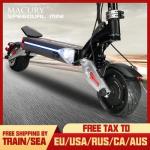 Macury SPEEDUAL Mini 8-дюймовый двухмоторный электрический скутер ZERO 8X 52V внедорожные двухприводные твердые шины ZERO8X X8-DUAL внедорожные