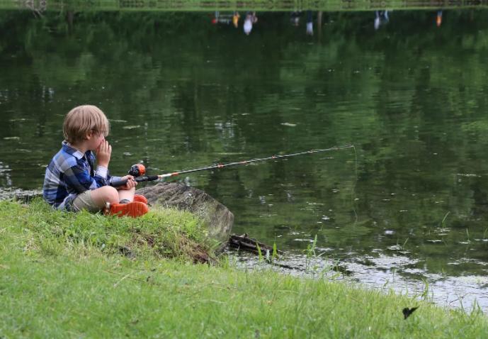 Маленький рыбак принес домой крайне опасный улов
