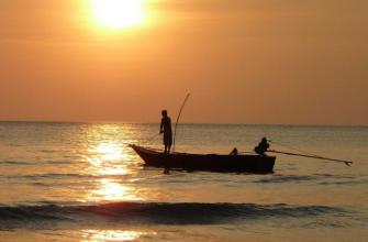 Рыбак умер, так и не вытащив свою заветную рыбу