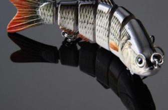 Составной воблер для ловли хищной рыбы